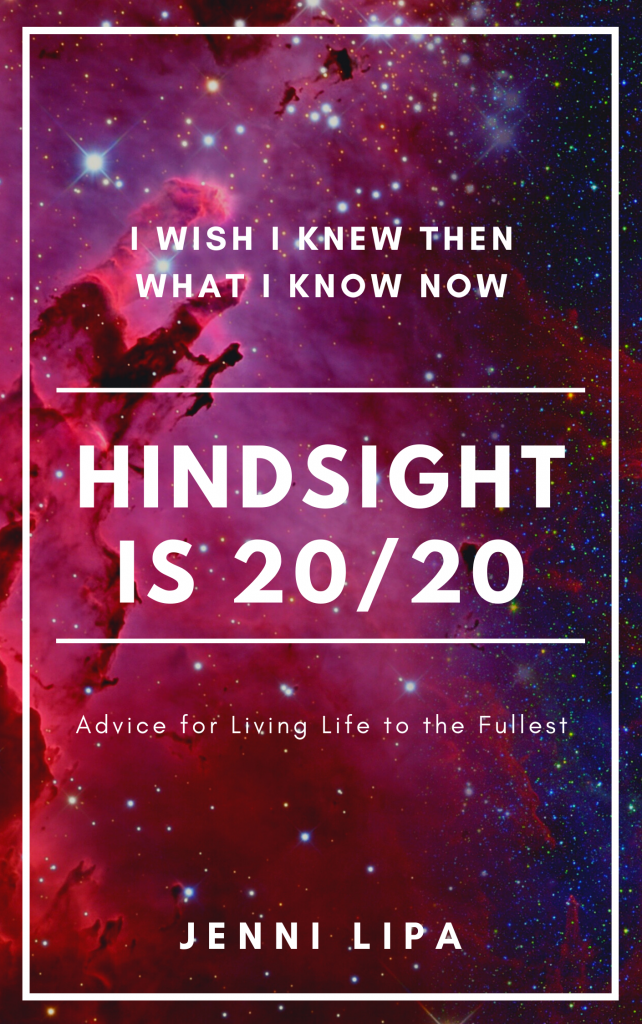 Jenni Lipa Hindsight is 20 20 front cover